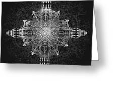 The Tabernacle In Black And White Greeting Card by Michael Durst