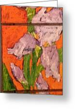 The Tall One High 5 Greeting Card by Sherry Harradence