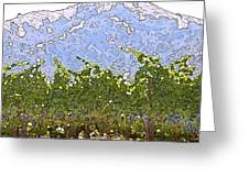The Taste Of Wine Greeting Card by Artist and Photographer Laura Wrede