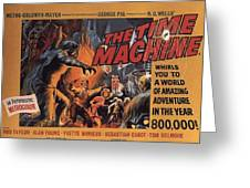 The Time Machine Greeting Card by Movie Poster Prints
