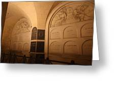 The Tombs at Les Invalides - Paris France - 011335 Greeting Card by DC Photographer