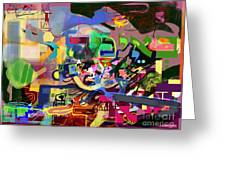 the Torah is aquired with awe 5 Greeting Card by David Baruch Wolk
