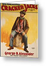 The Tramp Balladist Greeting Card by Aged Pixel