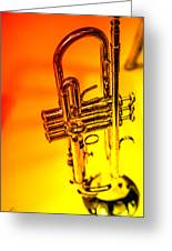 The Trumpet Greeting Card by Karol Livote