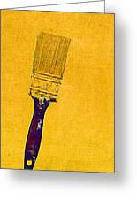 The Used Paintbrush Greeting Card by Bob RL Evans