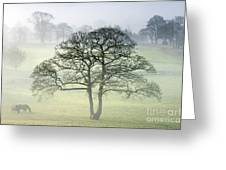 The Vale Of York From Crayke Greeting Card by John Potter