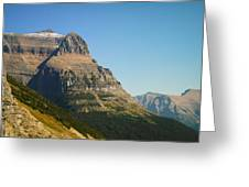 The Very First Snow In Montana In September Greeting Card by Jeff  Swan