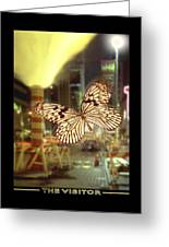 The Visitor Greeting Card by Mike McGlothlen