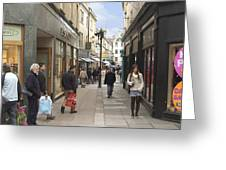 The Wait In Bath Greeting Card by Mike McGlothlen