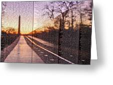 The Wall Greeting Card by JC Findley