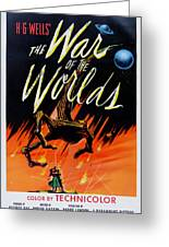 The War Of The Worlds Greeting Card by Nomad Art And  Design