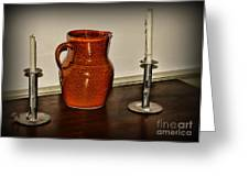 The Water Pitcher Greeting Card by Paul Ward