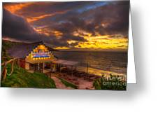The Waterfront Greeting Card by English Landscapes