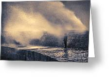 The Wave Will Come Greeting Card by Curtis Radclyffe