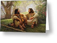 The Way of Joy Greeting Card by Greg Olsen