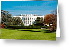 The White House Greeting Card by Greg Fortier