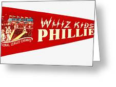 The Whiz Kids Greeting Card by Bill Cannon