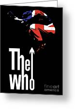The Who No.01 Greeting Card by Caio Caldas