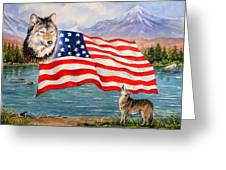 The Wildlife Freedom collection 1 Greeting Card by Andrew Read