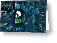 The Window Greeting Card by Salman Ravish