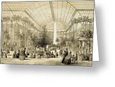 The Winter Garden Greeting Card by A Provost