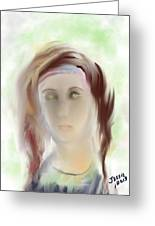 These Eyes Greeting Card by Jessica Wright