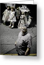 They See Real People Greeting Card by Christy Usilton