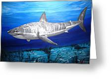 This Is A Shark Greeting Card by Kevin F Heuman