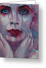 This Is The Fear This Is The Dread  These Are The Contents Of My Head Greeting Card by Paul Lovering