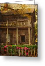 This Old House Greeting Card by Kim Hojnacki
