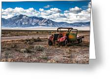 This Old Truck Greeting Card by Robert Bales