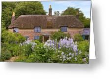 Thomas Hardy's cottage Greeting Card by Joana Kruse