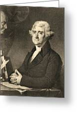 Thomas Jefferson Greeting Card by American School