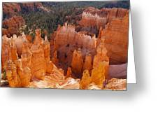 Thor's Hammer At Bryce Canyon In Utah Greeting Card by Alex Cassels