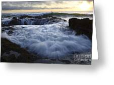 Thors Well 2 Greeting Card by Bob Christopher