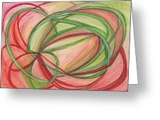 Thoughts Create Greeting Card by Kelly K H B