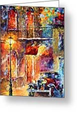 Thoughts Of My Ancestors  Greeting Card by Leonid Afremov