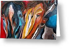 Three Amigos Greeting Card by Patti Schermerhorn