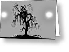 Three Trees Greeting Card by Bob Orsillo
