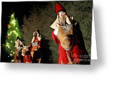 Three Wise Men Greeting Card by Gaspar Avila