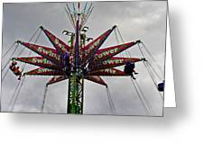 THRILL TOWER Greeting Card by Skip Willits
