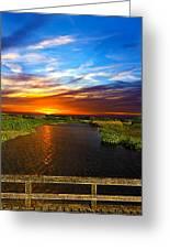 Through The Bridge Greeting Card by Atanas Yankov