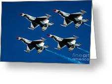 Thunderbirds Greeting Card by Larry Miller