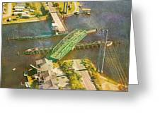 TI Swingin' Swing Bridge Greeting Card by Betsy C  Knapp