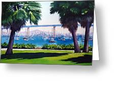 Tide Lands Park Coronado Greeting Card by Mary Helmreich