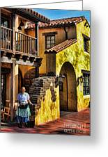 Tijuana Taco House II Greeting Card by Lee Dos Santos