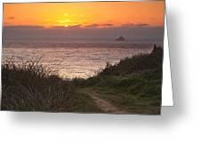 Tillamook Rock Lighthouse Greeting Card by Andrew Soundarajan