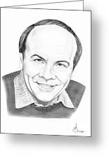 Tim Conway Greeting Card by Murphy Elliott