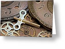 Time Deconstructed Greeting Card by Tom Gari Gallery-Three-Photography