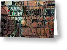 Time For A Motherboard Upgrade 20130716 square Greeting Card by Wingsdomain Art and Photography